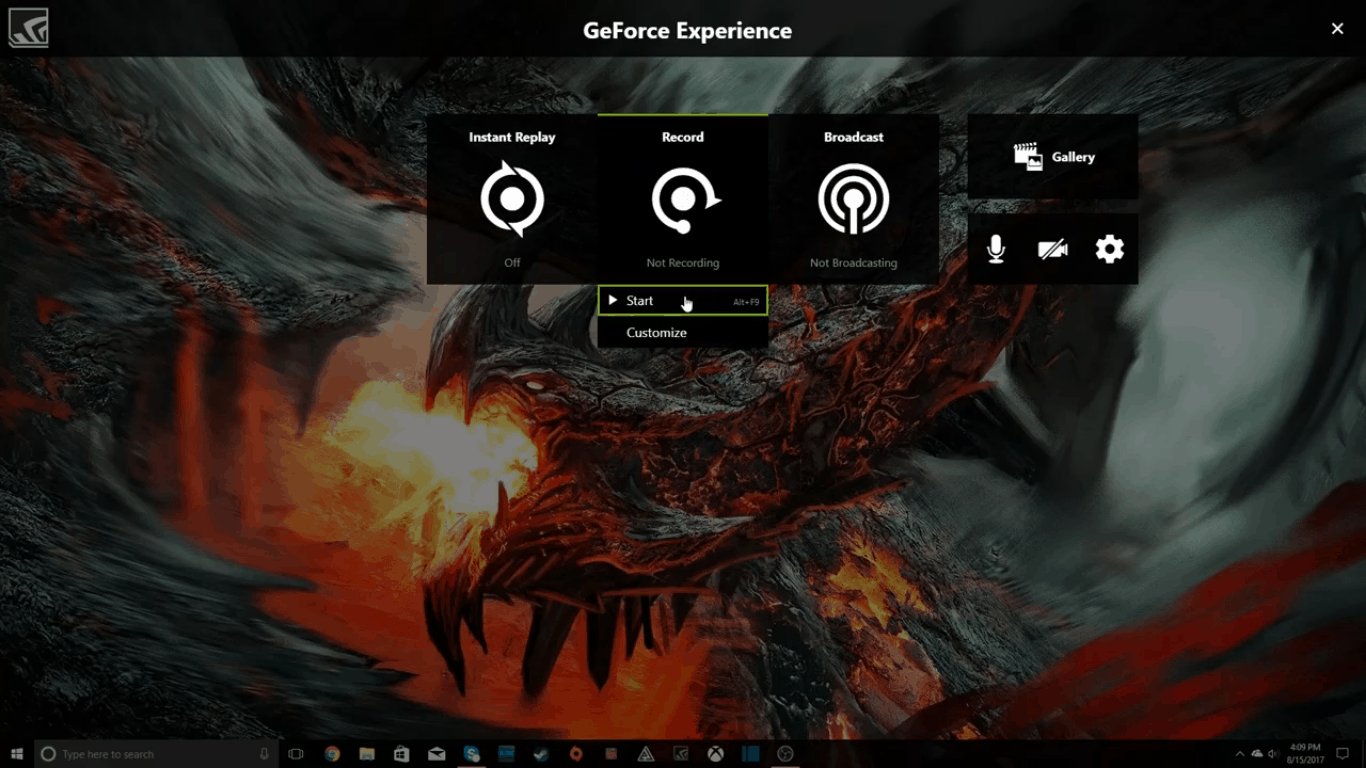 How To Record Games using Nvidia Driver's ShadowPlay 6