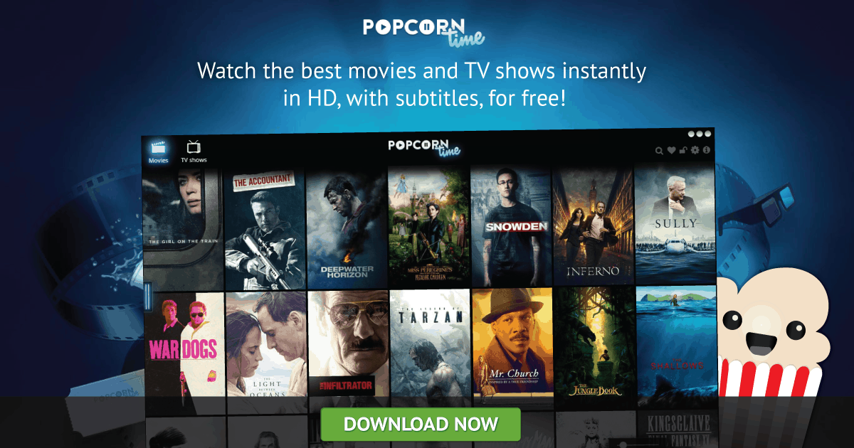 Popcorn Time  Putlocker Alternative