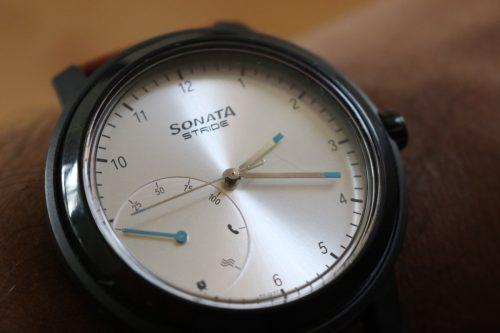 Sonata Stride Hybrid Smart Watch Review 3