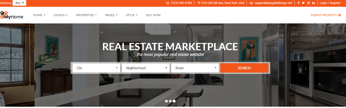 5 Best Real Estate WordPress themes in 2020 6