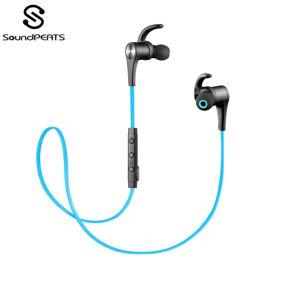 SoundPEATS Q12 Bluetooth 4.1 Wireless Earphones