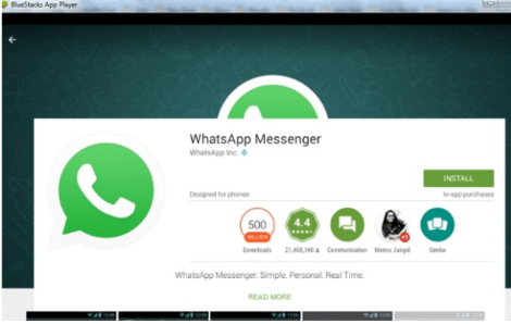 Use whatsapp on bluestacks