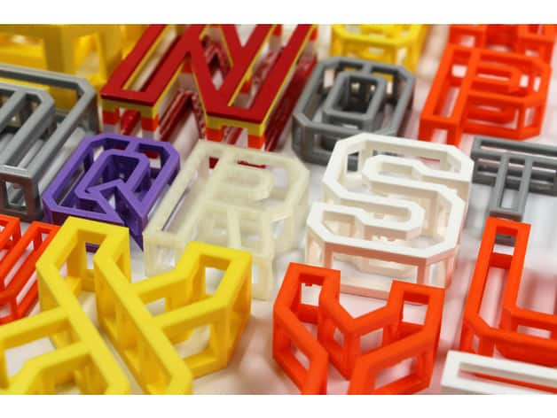 Uses of 3D printing in graphic design and visual communication -