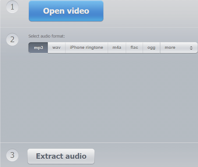audio extractor