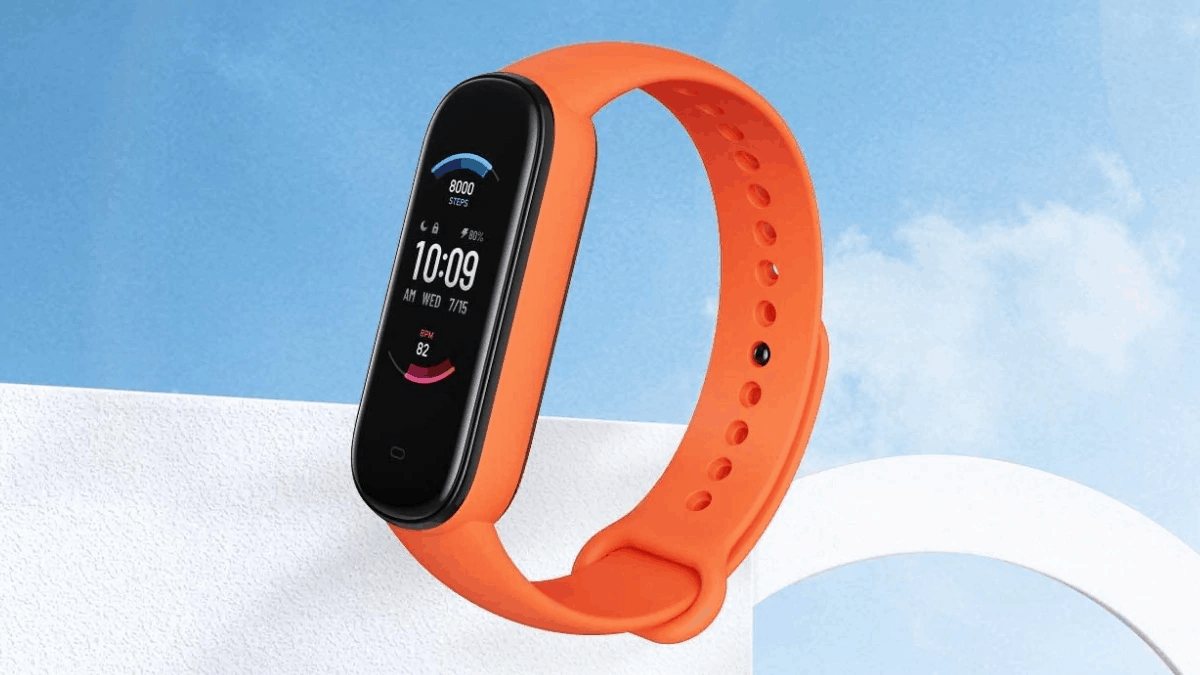 Amazfit Band 5 Listed on Amazon; Comes With Integrated Alexa, SPO2 Monitoring & more 1