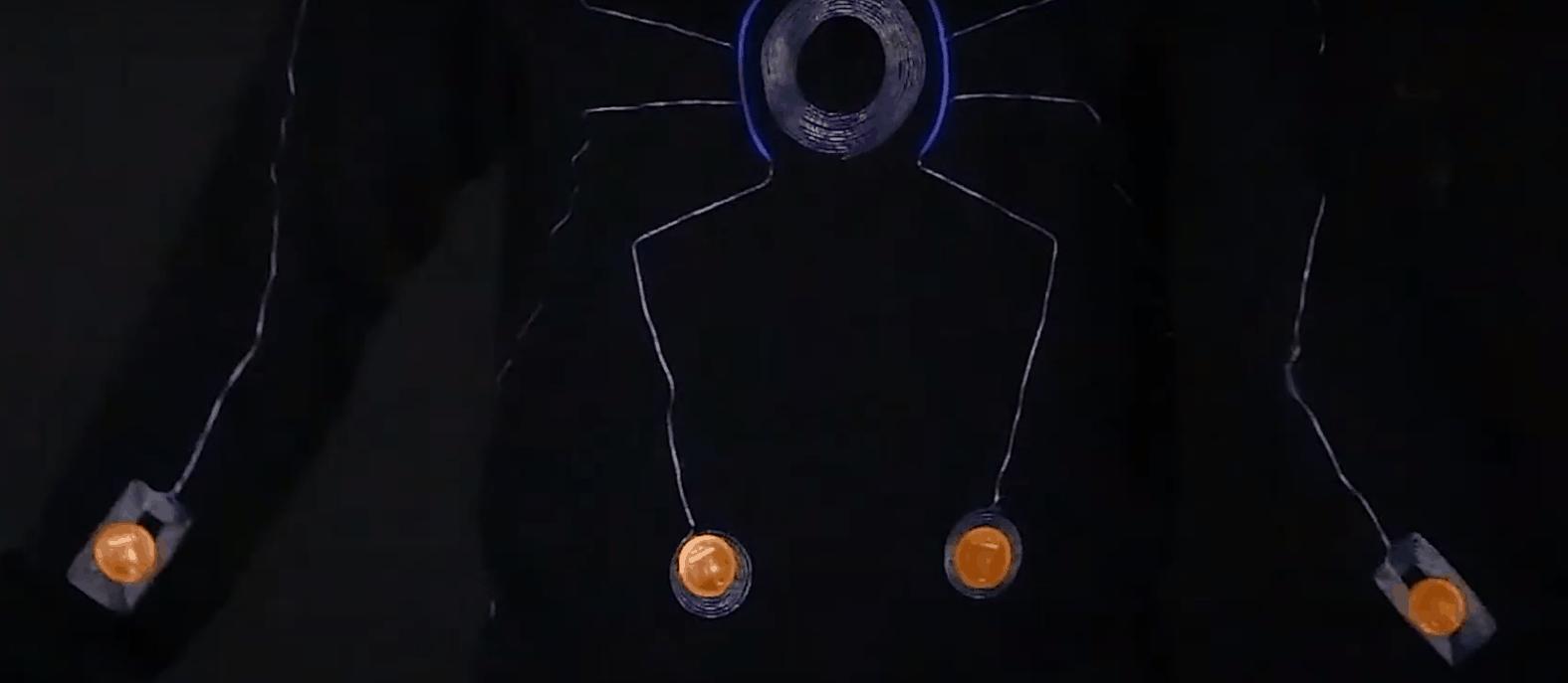 Smart suit sensors