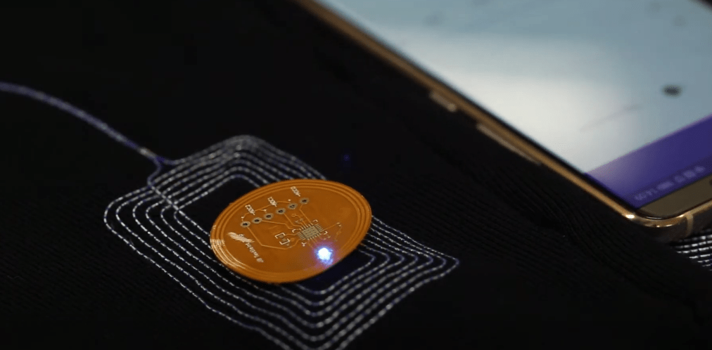 wireless charging in Smart suit