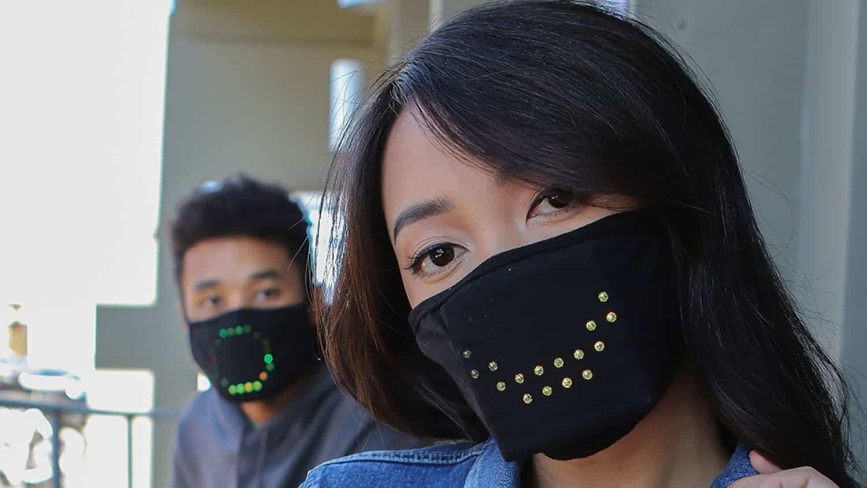 Jabbermask voice-assistant face mask