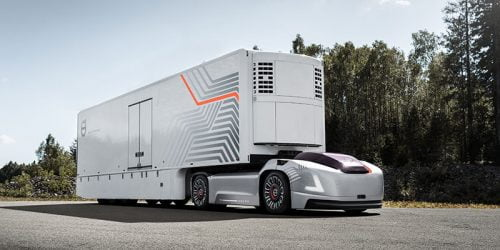 Meet Vera: The All-New Self-Driving Electric Truck From Volvo 1