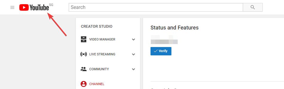 YouTube Status and Features