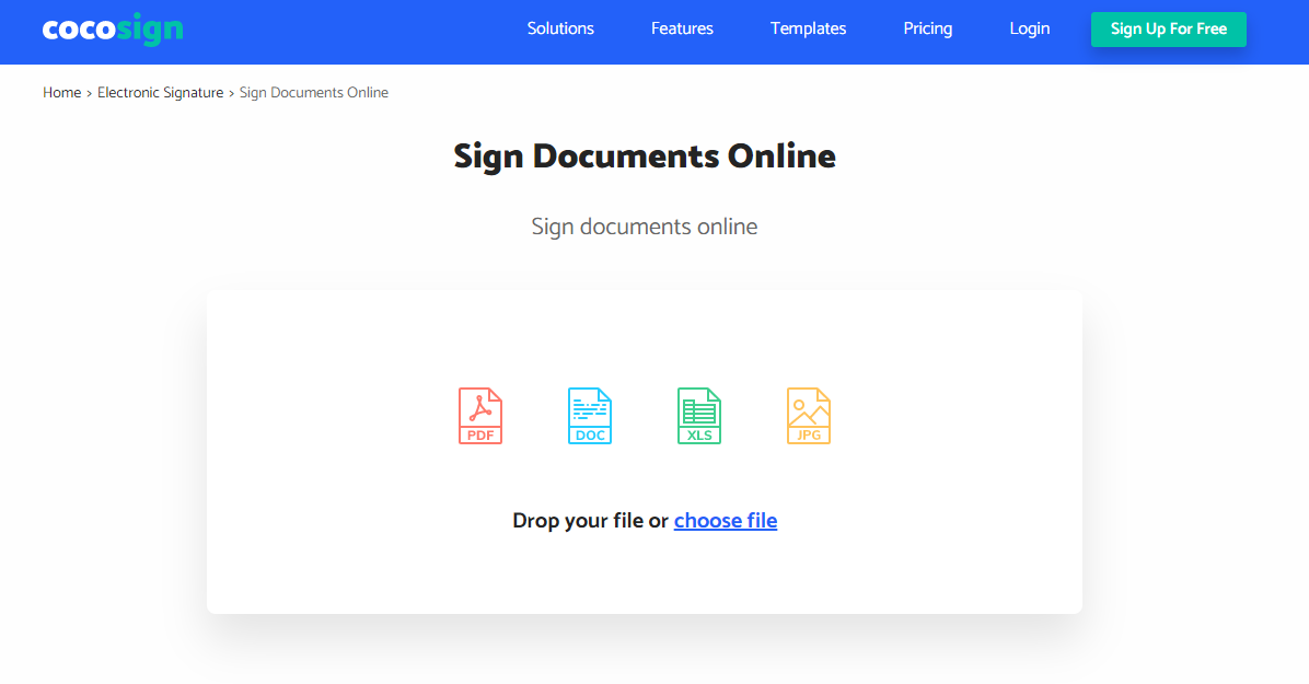 pdf online signature tools