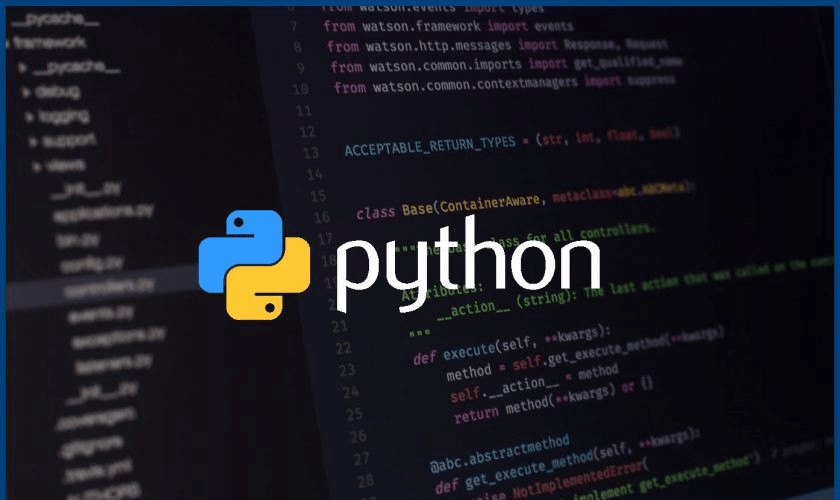 Python course provided by IBM