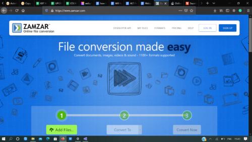 Zamzar webp to png converter tool