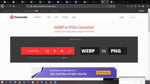 Convertio Homepage