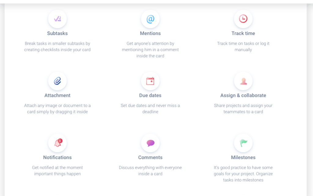 ora project management features track time, mentions and subtasks