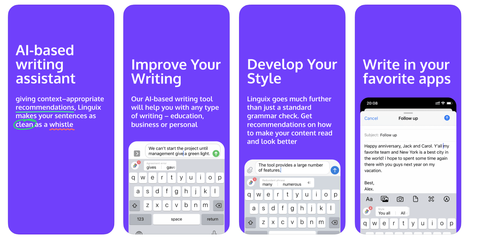linguix keyboard app